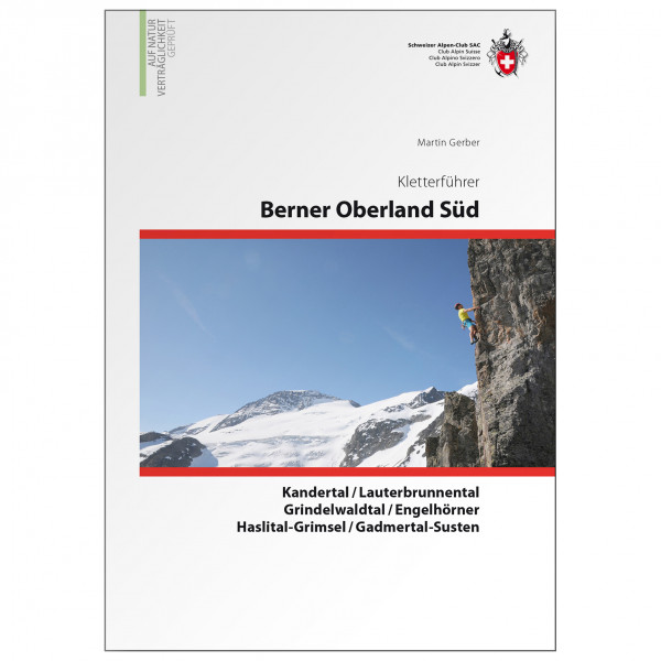 SAC-Verlag - Berner Oberland Süd - Alppiyhdistysten oppaat