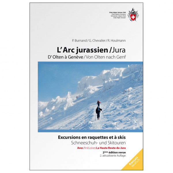 SAC-Verlag - Schneeschuhtou. Jura - Alpine Club guide