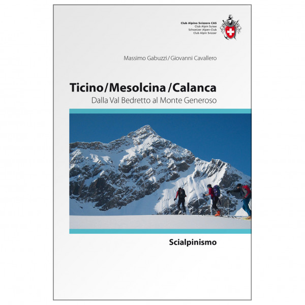 SAC-Verlag - Ski Ticino/Mesolcina Italien - Alpenvereinsführer