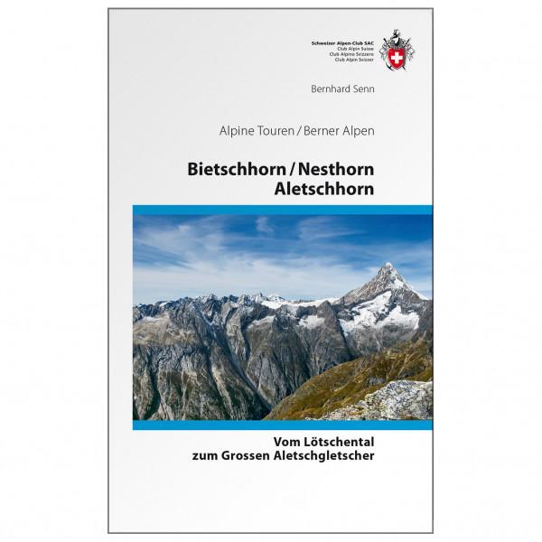 SAC-Verlag - Touren Bietschhorn Nesthorn - Alpinistengids