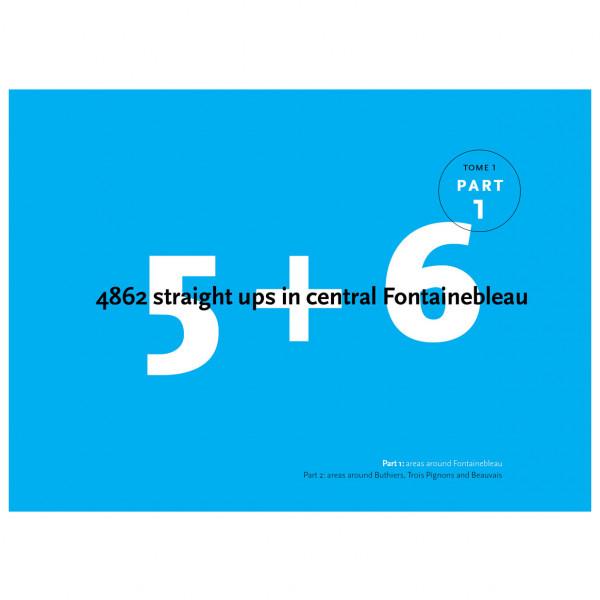 Bart van Raaij - 5+6 Straight Ups in Central Fontainebleau - Boulderointioppaat