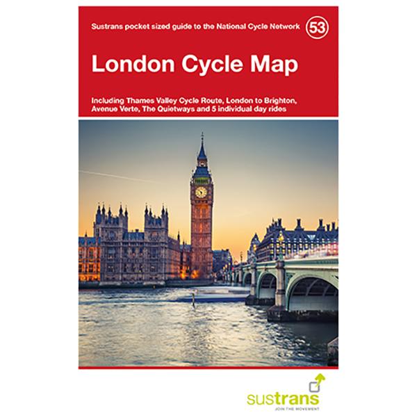 Sustrans - London - Radkarte