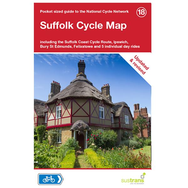 Sustrans - Suffolk - Radkarte