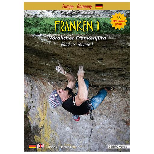 Gebro-Verlag - Franken 1 - Climbing guide