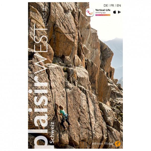 Edition Filidor - Plaisir West Band 2 - Kletterführer - Climbing guide