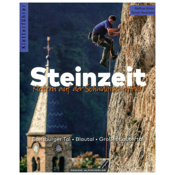 Panico Alpinverlag - Blautal, Lautertal, Eselsburger Tal - Kletterführer