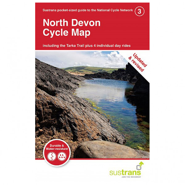 North Devon Cycle Map - Cycling map