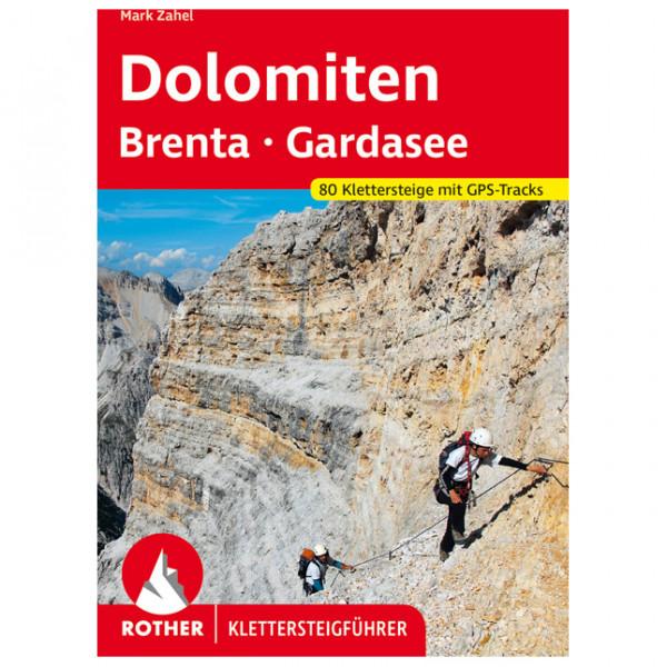 Bergverlag Rother - Klettersteige Dolomiten - Brenta - Gardasee - Via ferrata guide