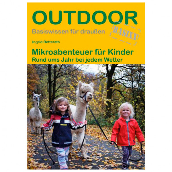 Conrad Stein Verlag - Mikroabenteuer für Kinder - Wanderführer