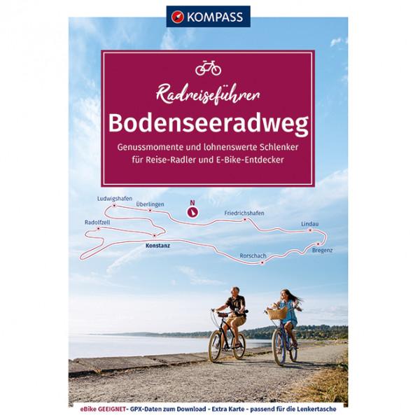 Kompass - Bodenseeradweg - Cykelguides