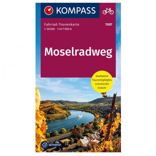 Moselradweg - Cycling map