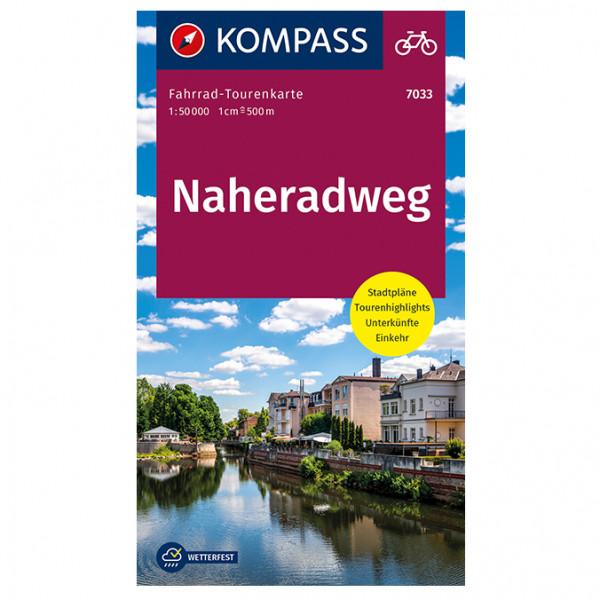 Naheradweg - Cycling map