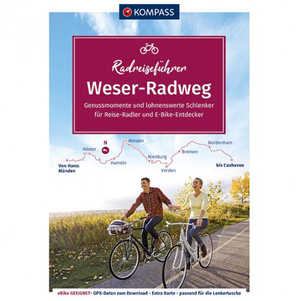 Kompass - Weserradweg | cycle map