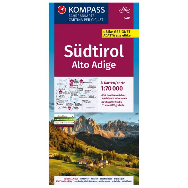 Kompass - Südtirol - Alto Adige - Radkarte