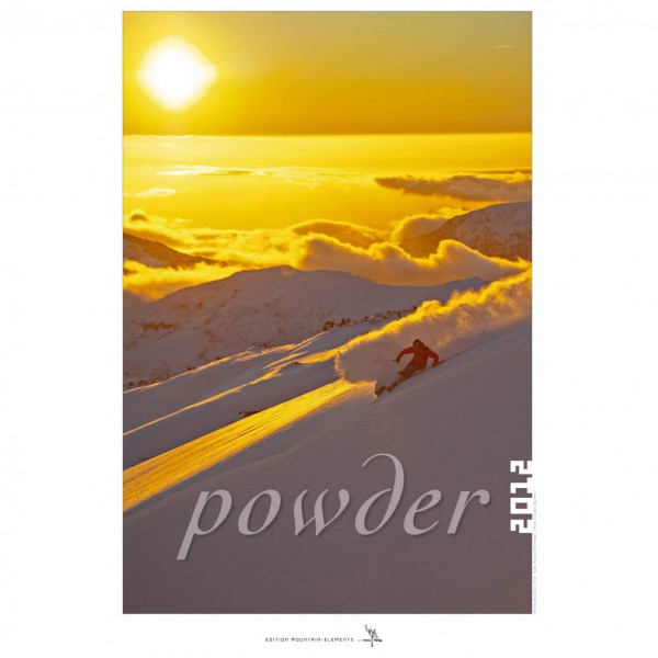 tmms-Verlag - Powder 2012 - Wandkalender