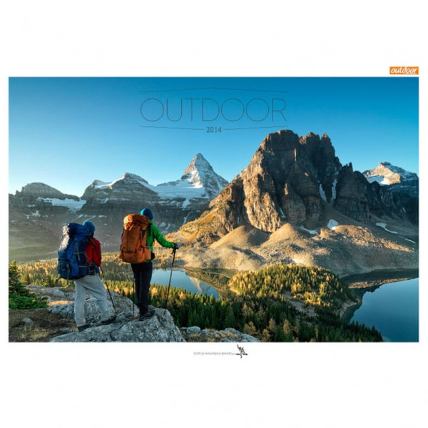 tmms-Verlag - Best of Outdoor 2014 - Kalender