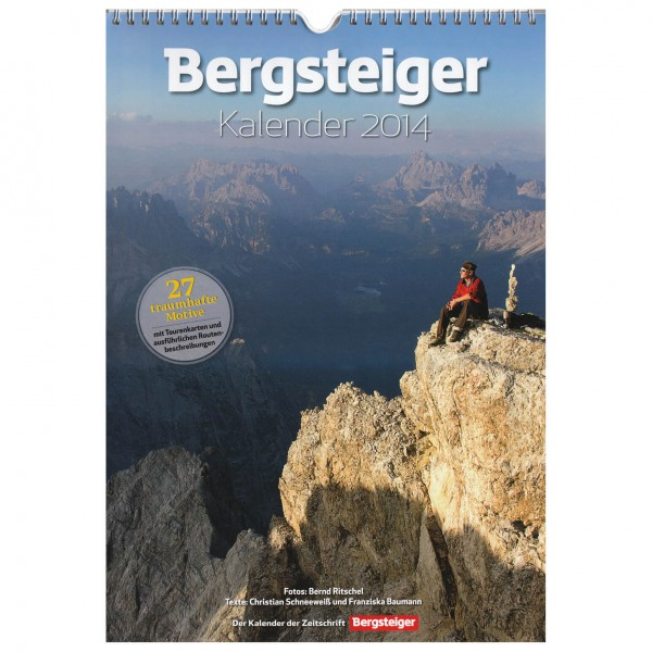 Bruckmann - Bergsteiger Kalender 2014