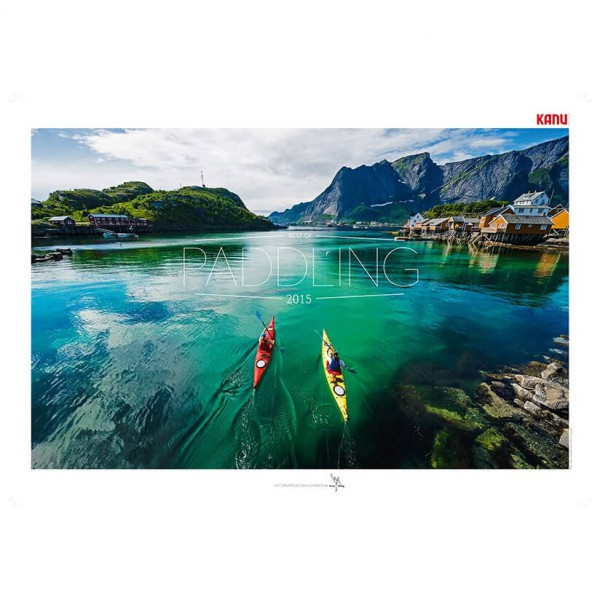 tmms-Verlag - Best of Paddling 2015 - Kalender