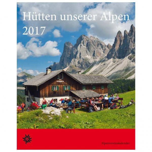 Bergverlag Rother - Hütten unserer Alpen 2017 - Calendar