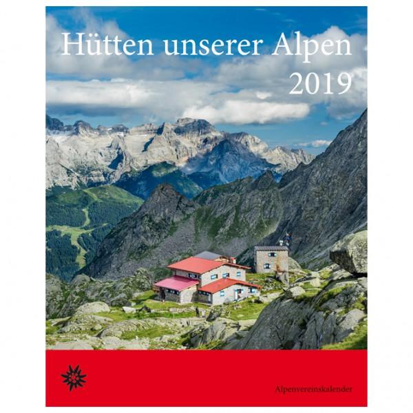Bergverlag Rother - Hütten unserer Alpen 2019 - Kalender