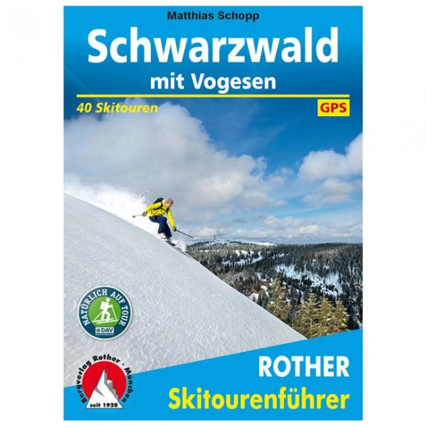 Bergverlag Rother - Schwarzwald – mit Vogesen - Skitourgidsen