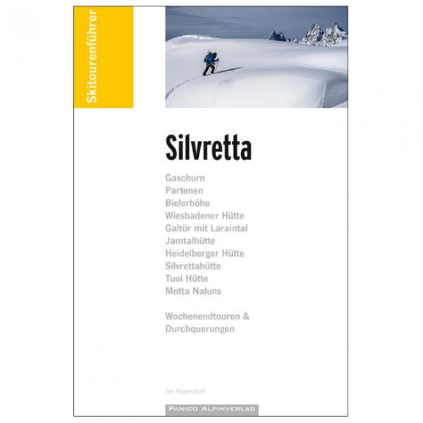 Panico Alpinverlag - Skiführer Silvretta Inkl. Gps-Tracks - Ski tour guide