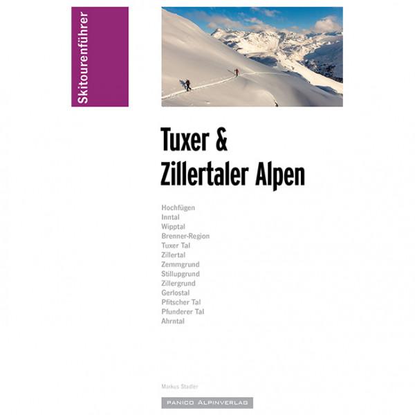 Panico Alpinverlag - Skiführer Tuxer & Zillertaler Alpen - Skitourenführer