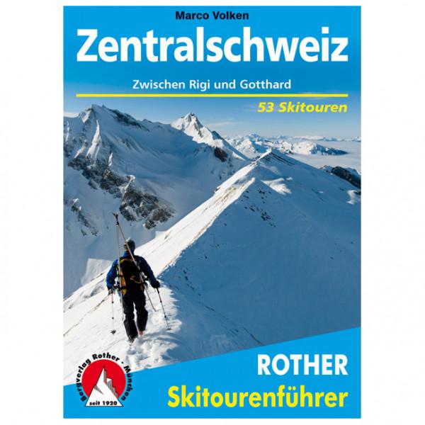 Bergverlag Rother - Zentralschweiz - Ski tour guide
