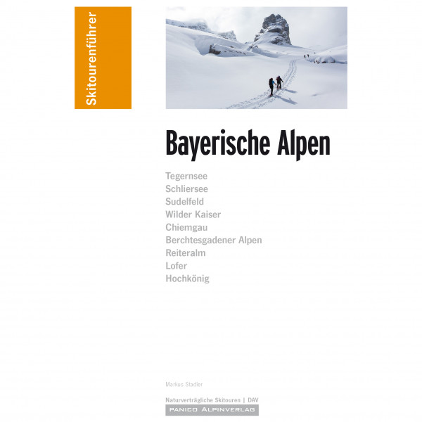Panico Alpinverlag - Skiführer Bayerische Alpen - Ski tour guide