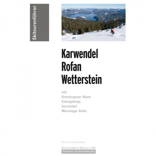 Panico Alpinverlag - Skiführer Karwendel - Rofan - Wetterstein - Skidtursguider