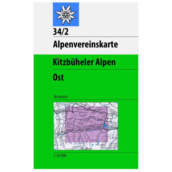 DAV - 34/2 SKI Kitzbüheler Ost - Skitourenführer