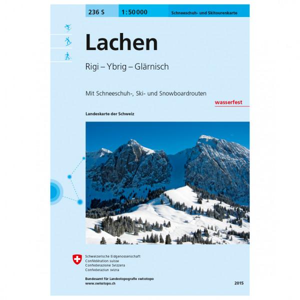 Swisstopo -  236 S Lachen - Skitourgidsen