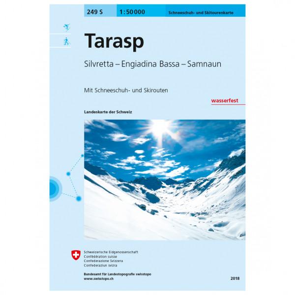 Swisstopo - 249 S Tarasp - Skiturguides