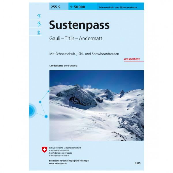 Swisstopo - 255 S Sustenpass - Skitourgidsen