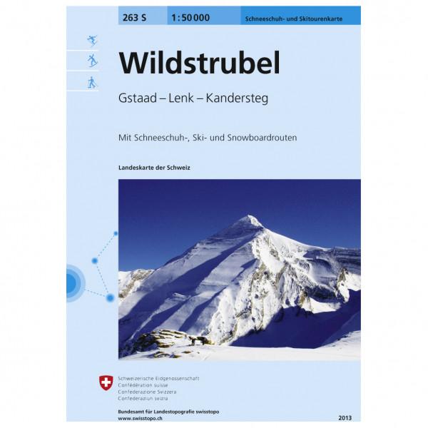 Swisstopo - 263 S Wildstrubel - Ski tour guide