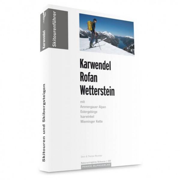Panico Alpinverlag - Karwendel - Rofan - Wetterstein - Ski tour guide