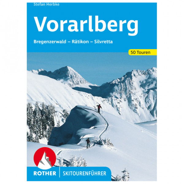 Bergverlag Rother - Vorarlberg - Ski tour guide