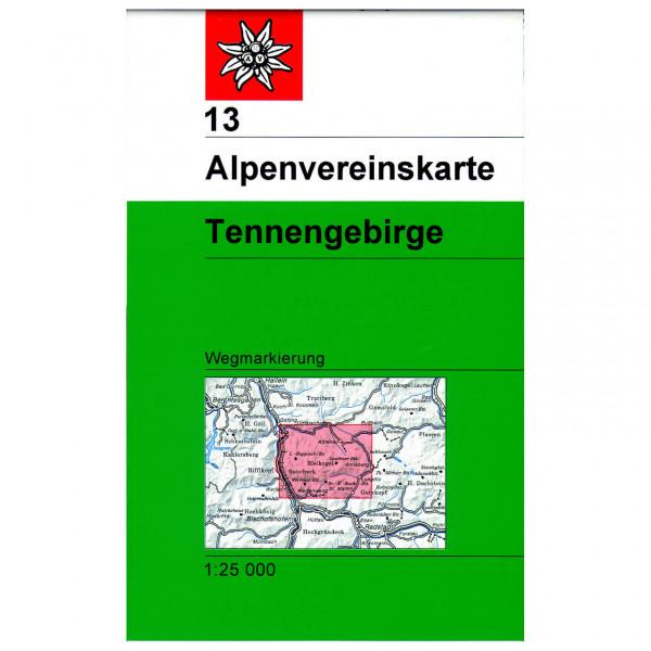 DAV - Tennengebirge 13 - Wandelkaarten