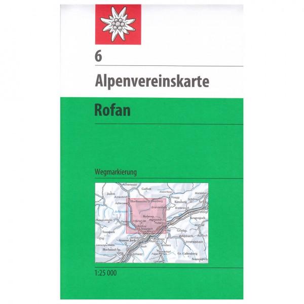 DAV - Rofan 6 - Hiking map