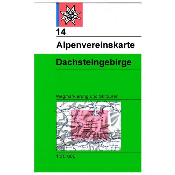 DAV - Dachstein 14 - Vandringskartor