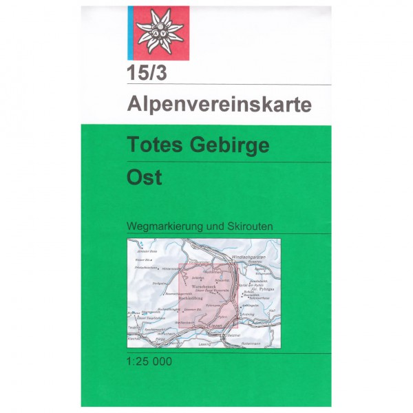 DAV - Totes Gebirge, östliches Blatt 15/3 - Hiking map