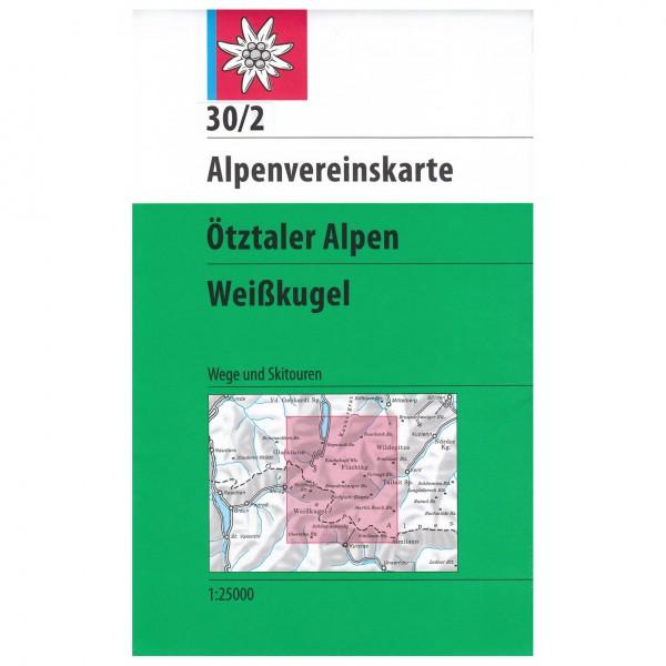 DAV - Ötztaler Alpen, Weißkugel 30/2