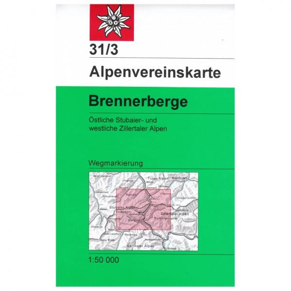 DAV - Stubaier Alpen, Brennerberge 31/3