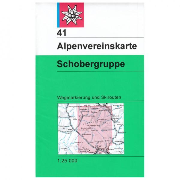 DAV - Schobergruppe 41 - Wanderkarte