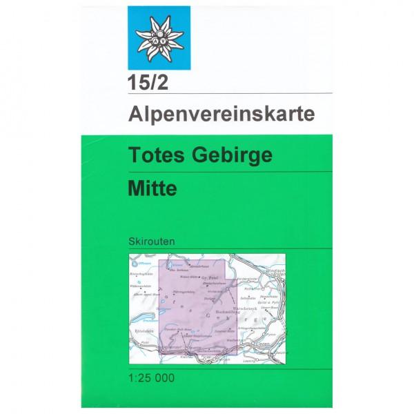 DAV - Totes Gebirge, mittleres Blatt 15/2 - Skidtursguider