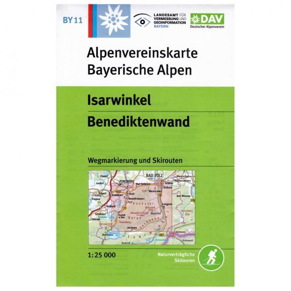 DAV - Isarwinkel - Hiking map