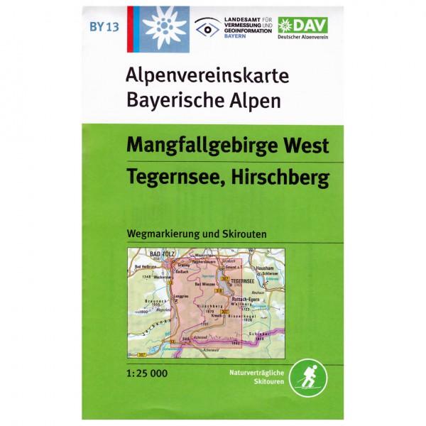 DAV - Mangfallgebirge West, Tegernsee, Hirschberg BY13