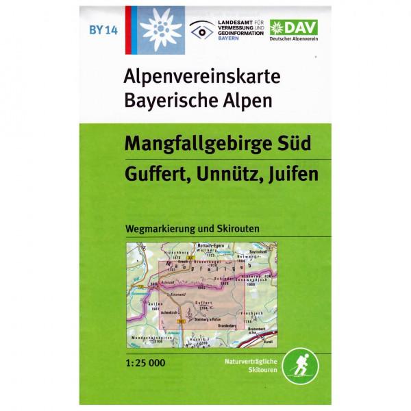 DAV - Mangfallgebirge Süd - Vandringskartor