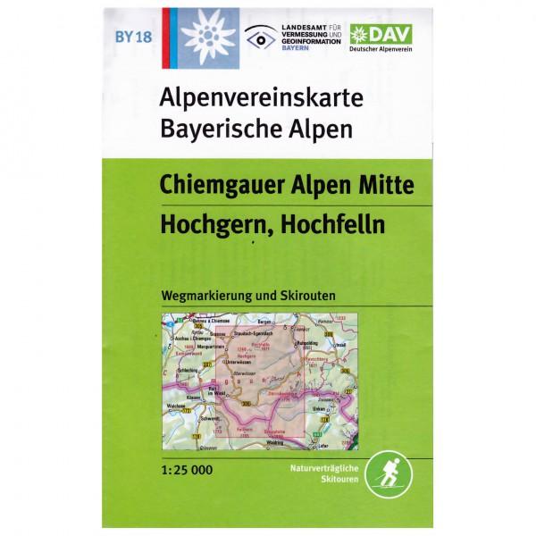 DAV - Chiemgauer Alpen Mitte BY18