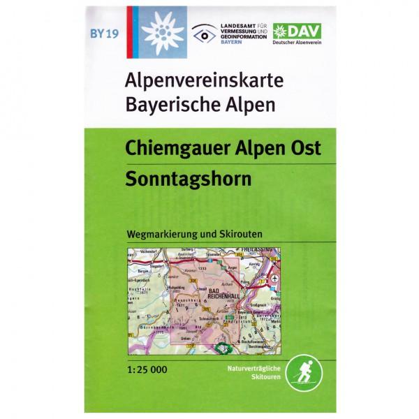 DAV - Chiemgauer Alpen Ost, Sonntagshorn BY19